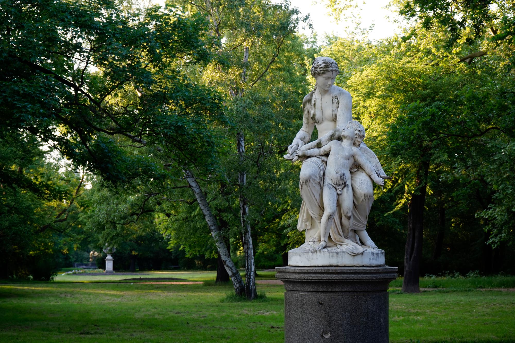 Skulptur im Blüherpark